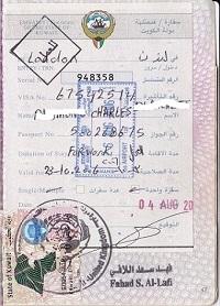 Kuwait work visa